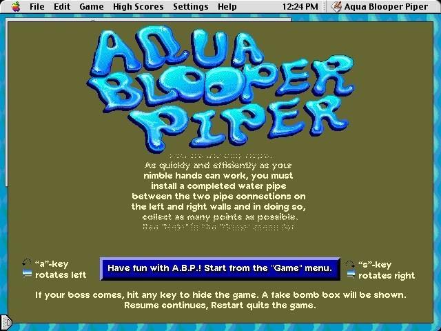 Aqua Blooper Piper