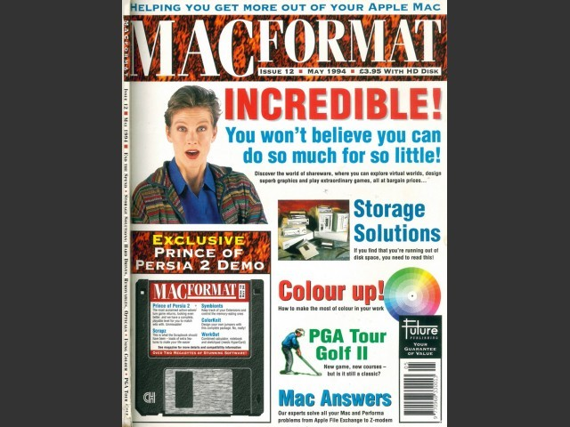 MacFormat 12 (May 1994) Magazine & Disk (1994)