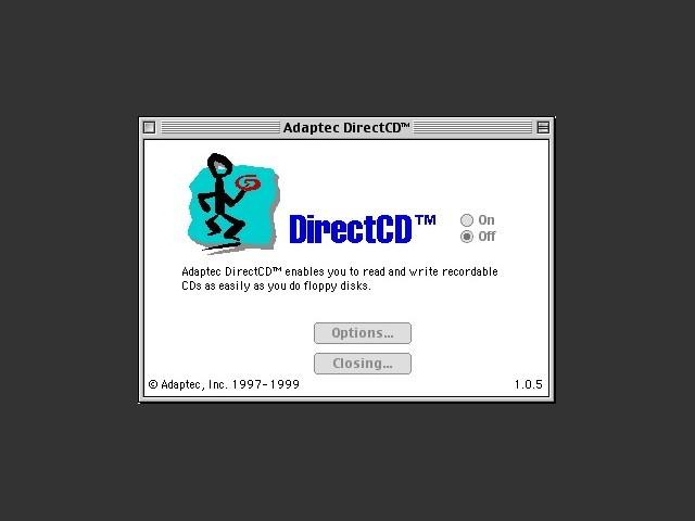 Adaptec DirectCD (1997)