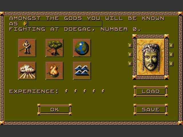 Populous II: Trials of the Olympian Gods (1991)