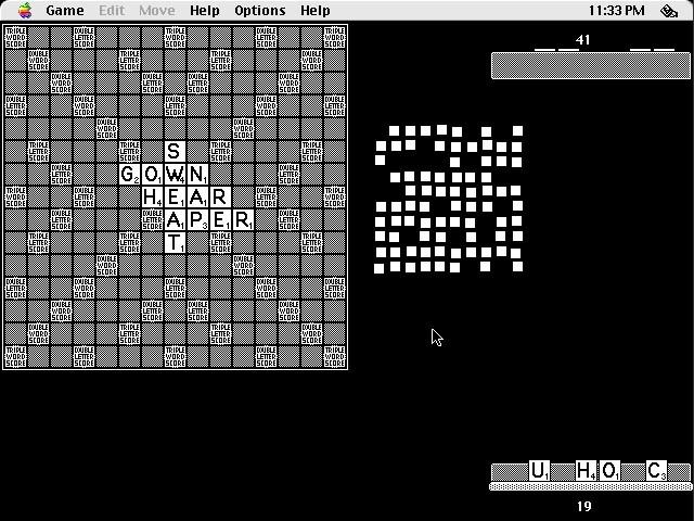 Crab Scrabble (1987)