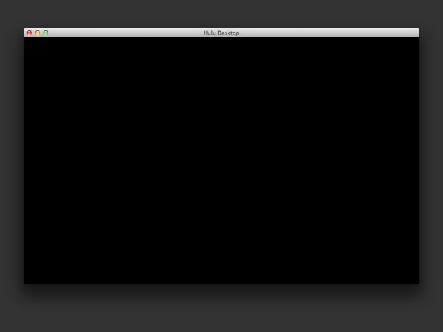 Hulu Desktop (2009)