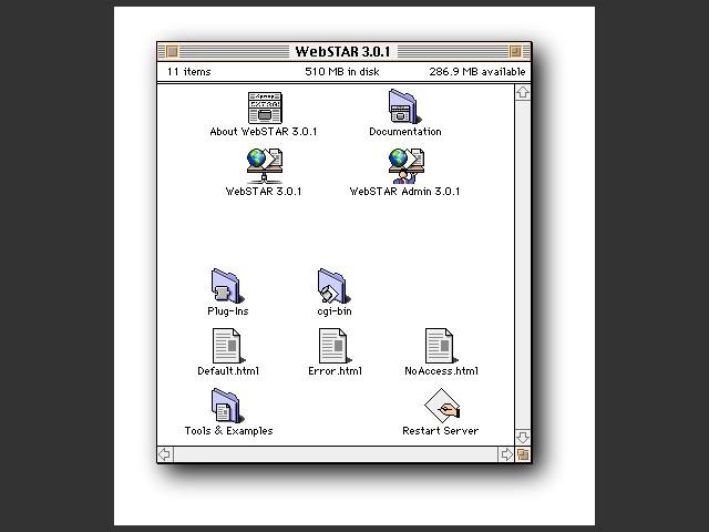 WebSTAR 3 (1998)