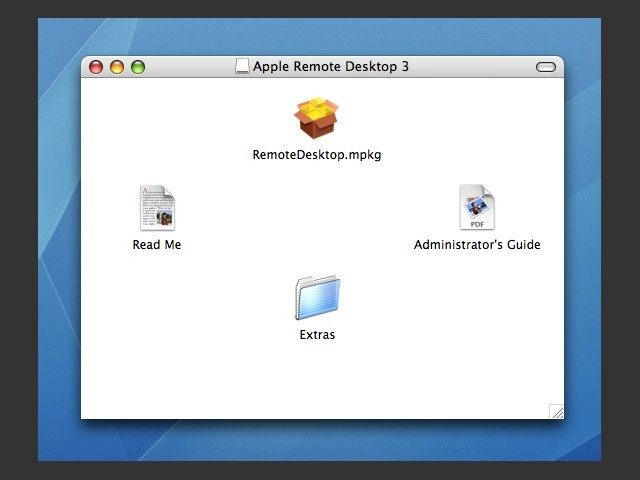 Apple Remote Desktop 3 (2006)