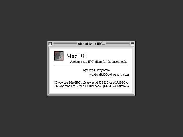MacIRC (1995)