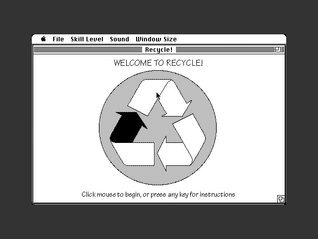 Recycle (1991)