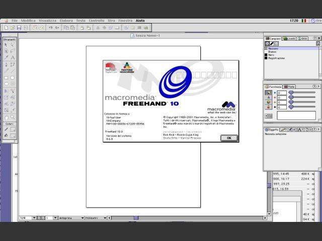 Macromedia FreeHand 10 (2001)