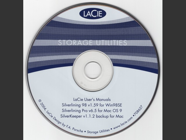 LaCie Storage Utilities CD-ROM (2004) (2004)