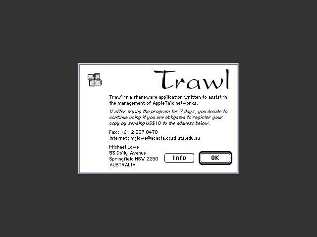 Trawl 1.0.2 (1993)