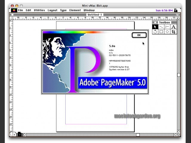Adobe PageMaker 5.0 Bundle (1995)