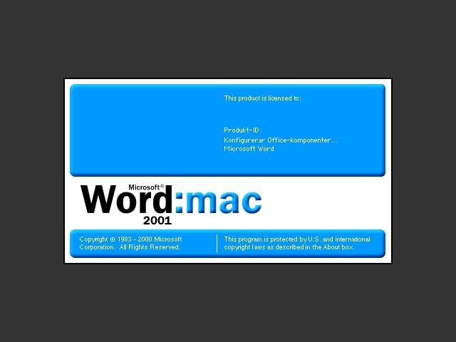 Word Splash Screen