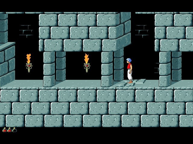 "Screenshot of ""Prince of Persia 1"""
