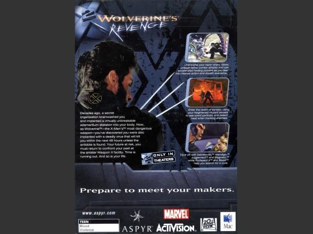 X2: Wolverine's Revenge (2003)