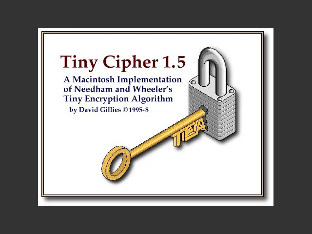 Tiny Cipher 1.5 (1998)