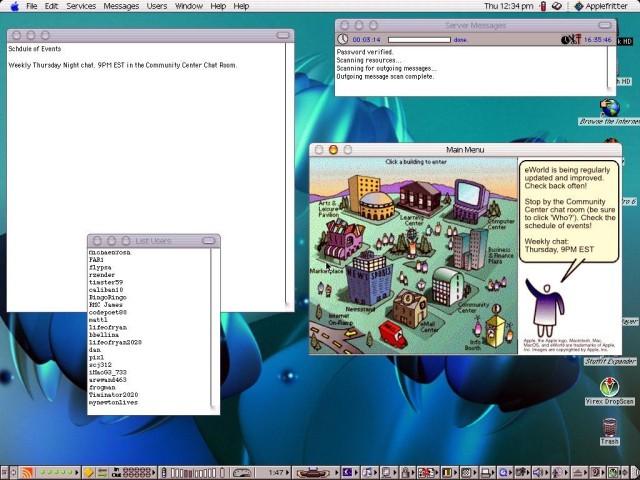 Applefritter BBS (eWorld Reboot) (1994)