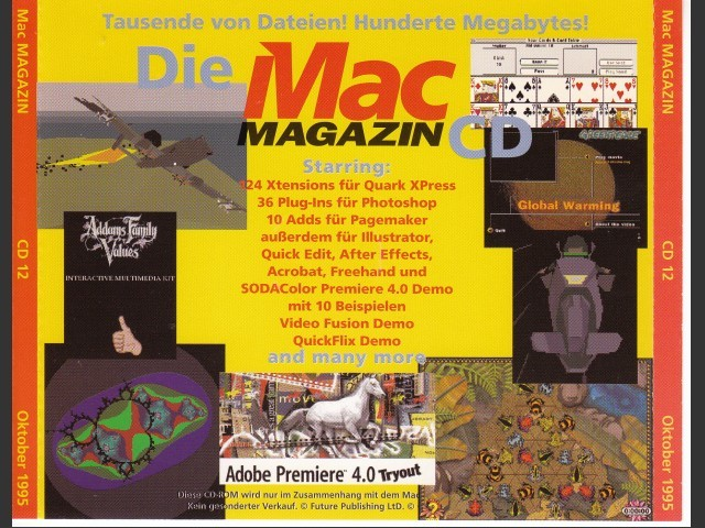 Mac Magazin CD 12 (October 1995, German) (1995)