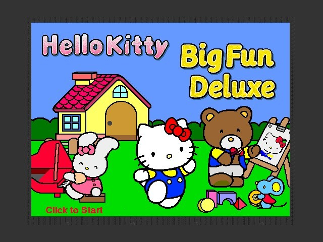 Hello Kitty Big Fun Deluxe (1995)