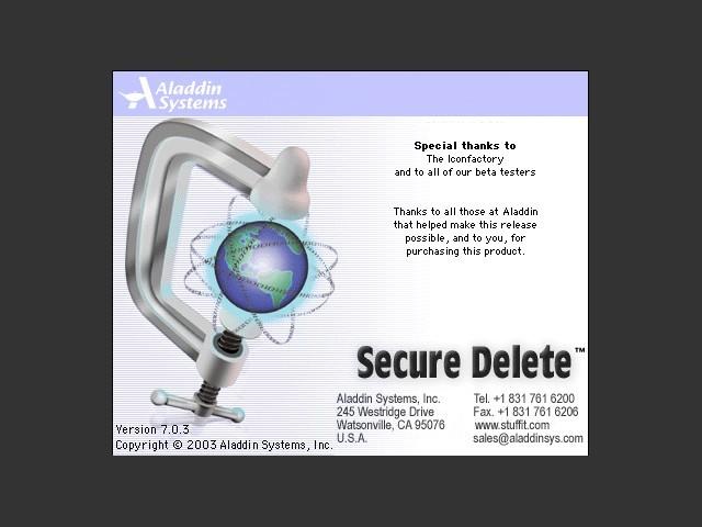 Secure Delete (2003)