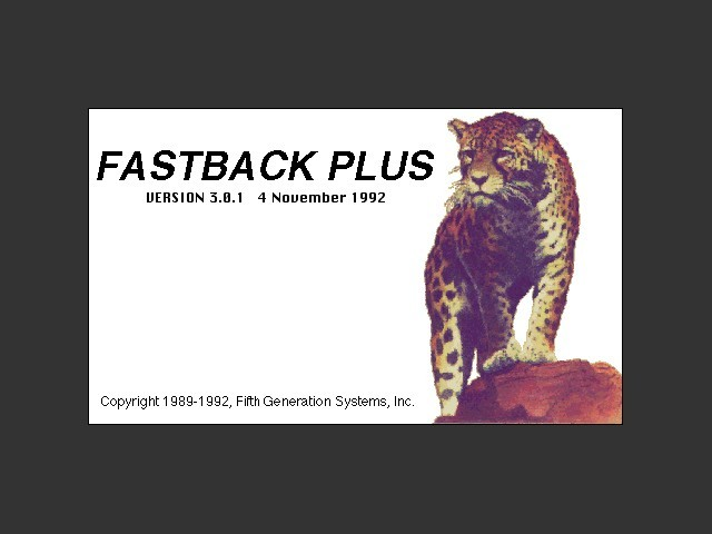 Fastback Plus (1992)