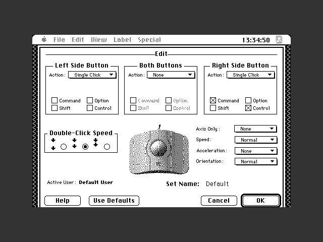 set editor