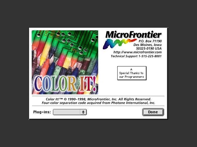 Color It! 4.x (1998)
