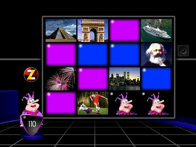 this is a quiz matching game history pop world events beautiful graphics, for the time. If I had...