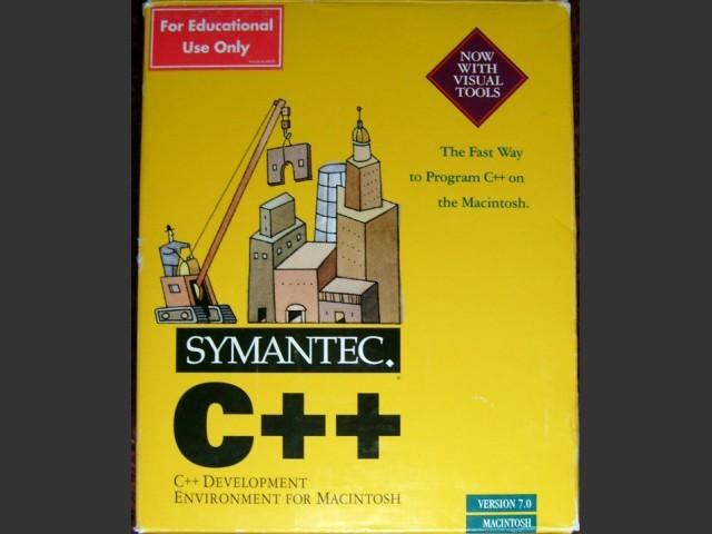 Symantec C++ 7.0 (1994)