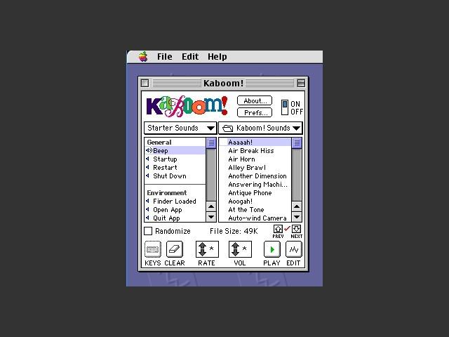Kaboom! 3.0 (1994)