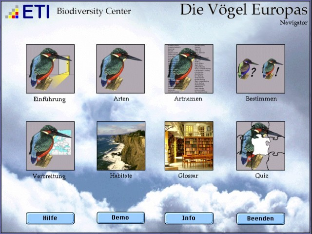 Die Voegel Europas (Birds of Europe) (1997)