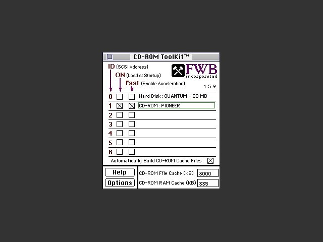 FWB CD-ROM Toolkit 1.5.9 (1994)