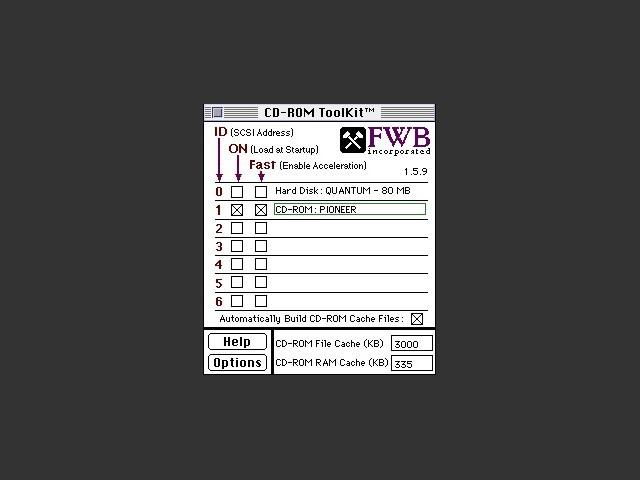FWB CD-ROM Toolkit 1.5.9 (1994)