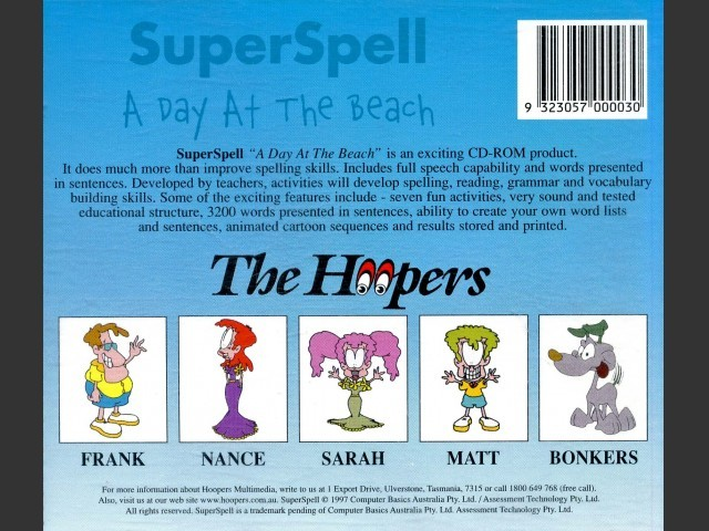 SuperSpell: A Day At The Beach (1997)