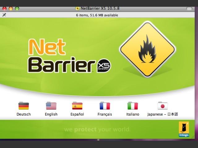 NetBarrier X5 10.5.8 (2007)