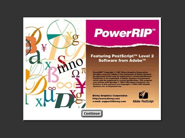 Birmy PowerRIP 4.1 (1997)