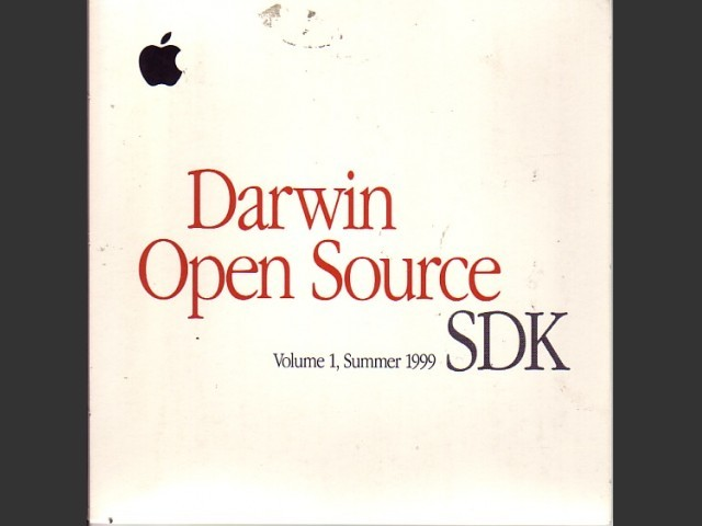 Darwin Open Source v.0.3. SDK, Volume 1, Summer 1999 (1999)