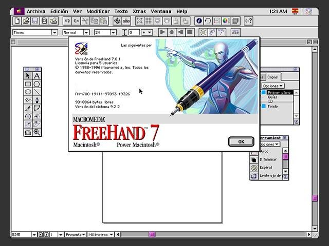 FreeHand 7 (Español) (1996)