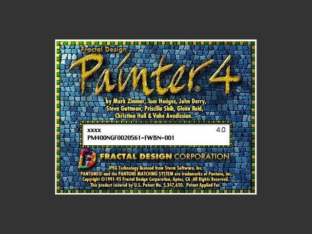 Painter 4 (1995)