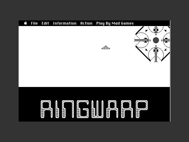RingWarp splash screen