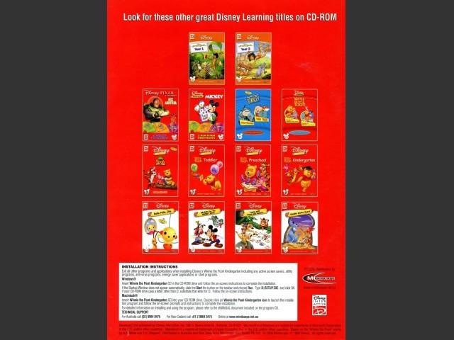 Disney's Winnie the Pooh: Kindergarten (2000)