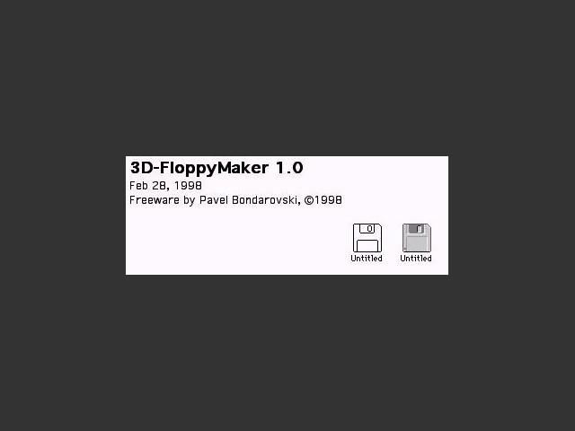 3D-FloppyMaker (1998)