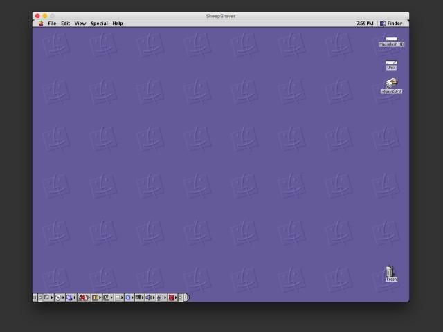Mac OS 9 Desktop