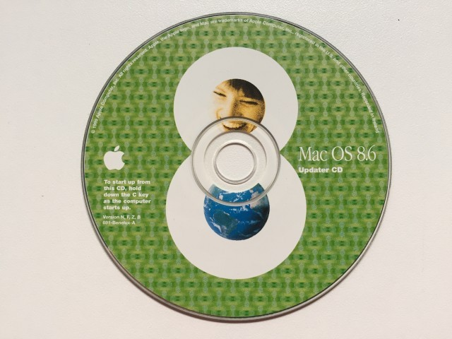 Mac OS 8.6 Updater CD (1998)