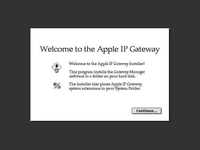 Apple IP Gateway 1.0.1 (1994)