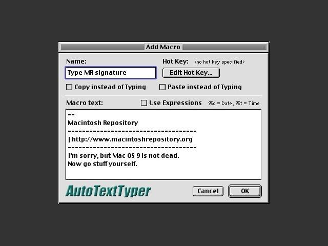 Auto Text Typer (2002)