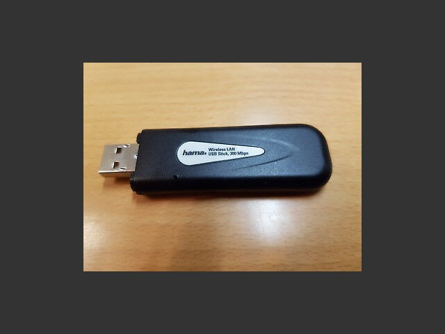 WLAN usb stick drivers for RT71W Ralink (2009)