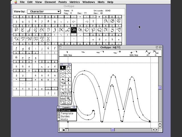 Fontographer 4.1.5