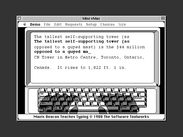 Mavis Beacon Teaches Typing! (1988)