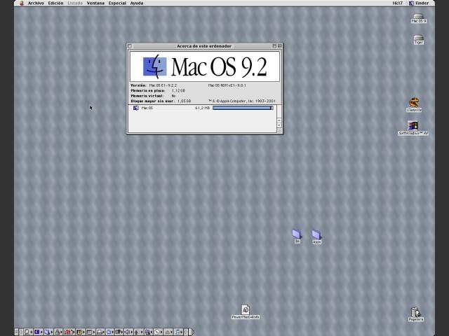 Mac OS 9.2.2 (Spanish) (2001)