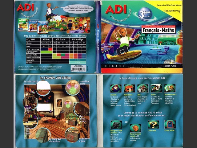 ADI 4 Français-Maths 3ème (1998)