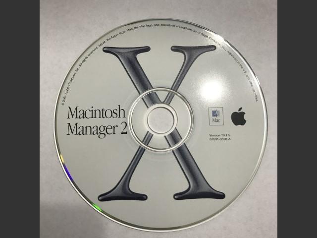 691-3598-A,0Z,Macintosh Manager v2.1.1 (CD) (2001)